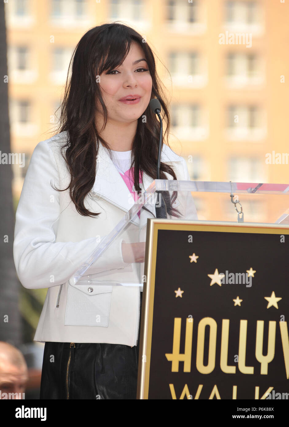 Miranda Cosgrove  at Ellen K Honored with a Star on the Hollywood Walk of Fame In Los Angeles. Radio talk show host at KIIS Fm ( in LA and many radio station in US and around the world ).Miranda Cosgrove   Event in Hollywood Life - California, Red Carpet Event, USA, Film Industry, Celebrities, Photography, Bestof, Arts Culture and Entertainment, Topix Celebrities fashion, Best of, Hollywood Life, Event in Hollywood Life - California, movie celebrities, TV celebrities, Music celebrities, Topix, Bestof, Arts Culture and Entertainment, Photography,    inquiry tsuni@Gamma-USA.com , Credit Tsuni /  - Stock Image