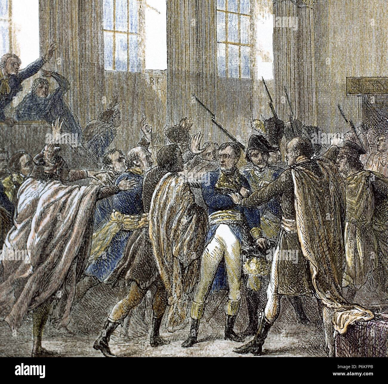 napoleon bonaparte 1769 1821 in the council of five hundred the