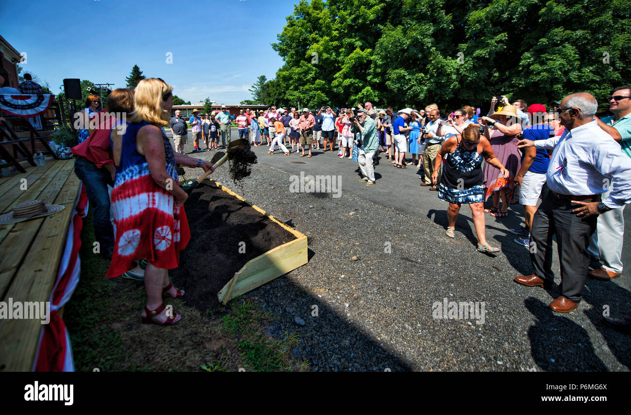 Hillsboro, Virginia, USA  1st July, 2018  Hillsboro 4th of