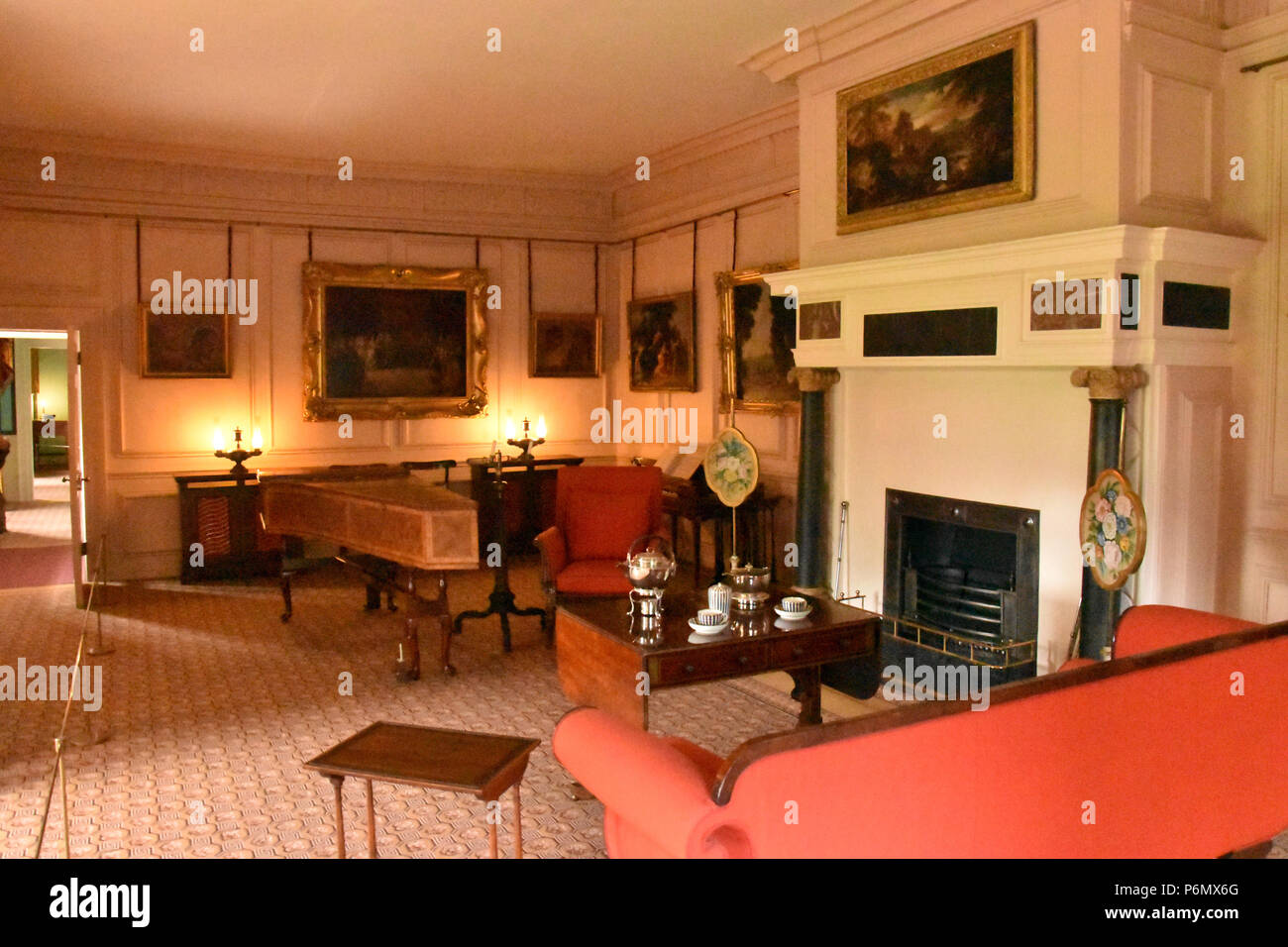 Music Room in the Dutch House, the main survivor of Kew Palace in ...