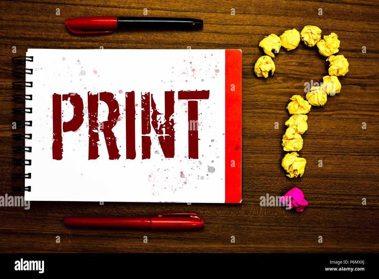 Conceptual Hand Writing Showing Print Business Photo Text Produce