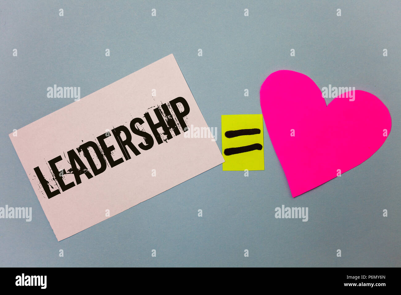 Handwriting Text Writing Leadership Concept Meaning Ability