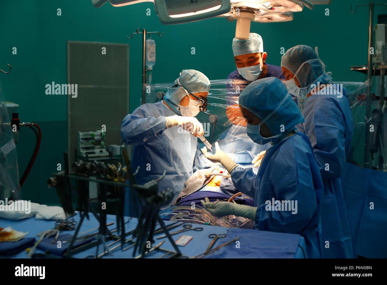 Tam Duc Cardiology Hospital Operating Theater Cardiac Surgery Ho Chi Minh City Vietnam Stock Photo Alamy