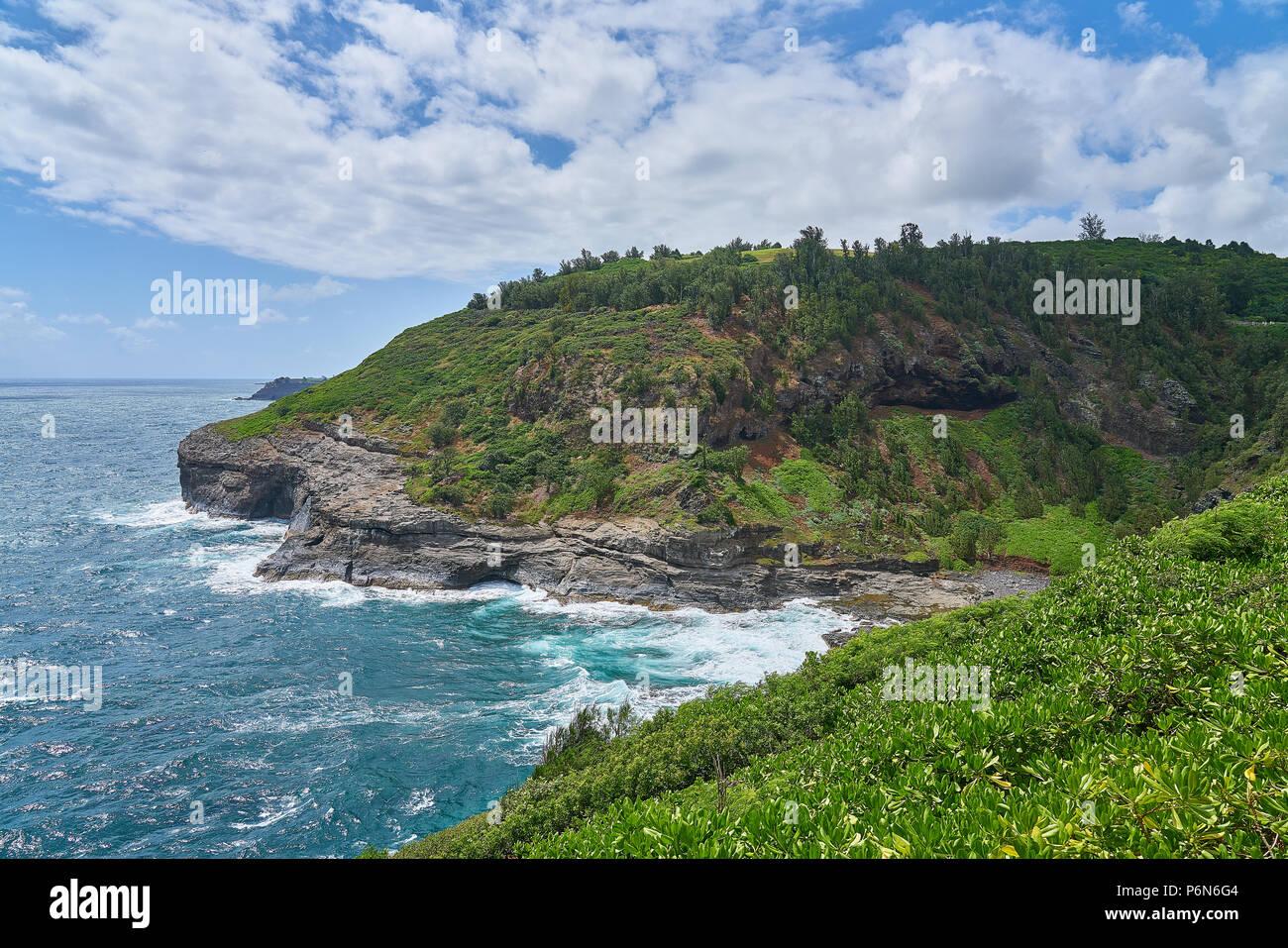 Kilauea Lighthouse Wildlife Refuge - Stock Image