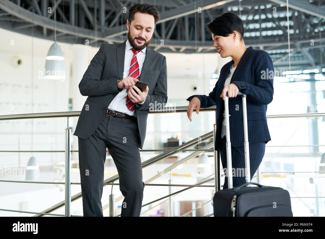Business travel - Stock Image