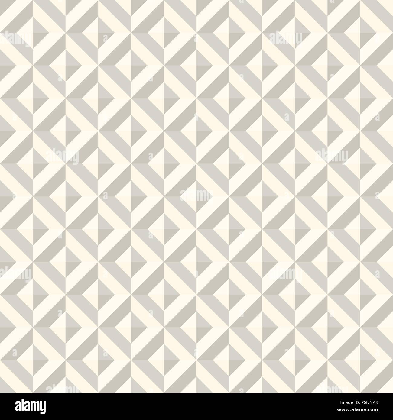 Beige Abstract rectangle seamless pattern. Modern rectangle for graphic design. - Stock Vector