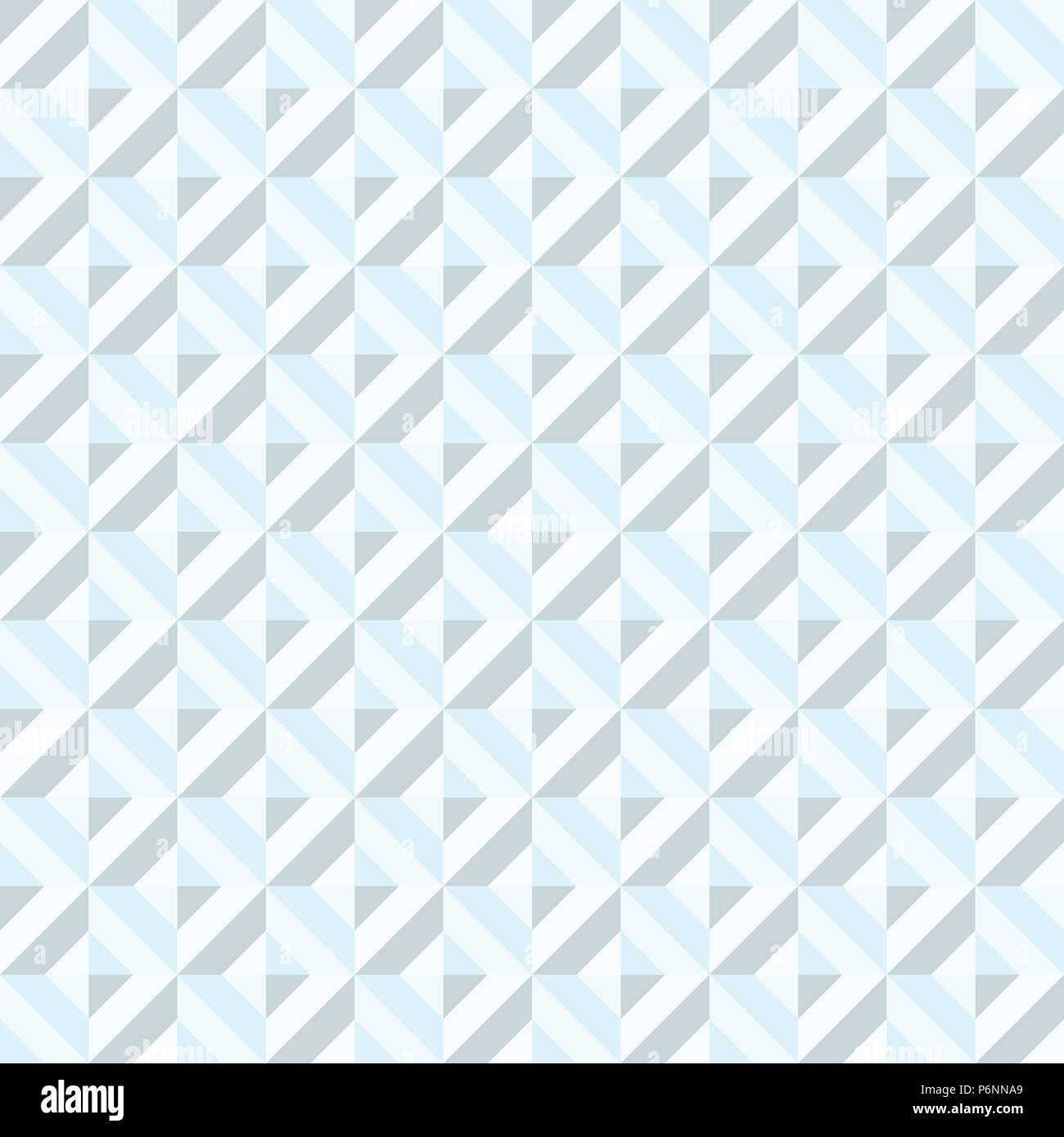 Blue Abstract rectangle seamless pattern. Modern rectangle for graphic design. - Stock Vector