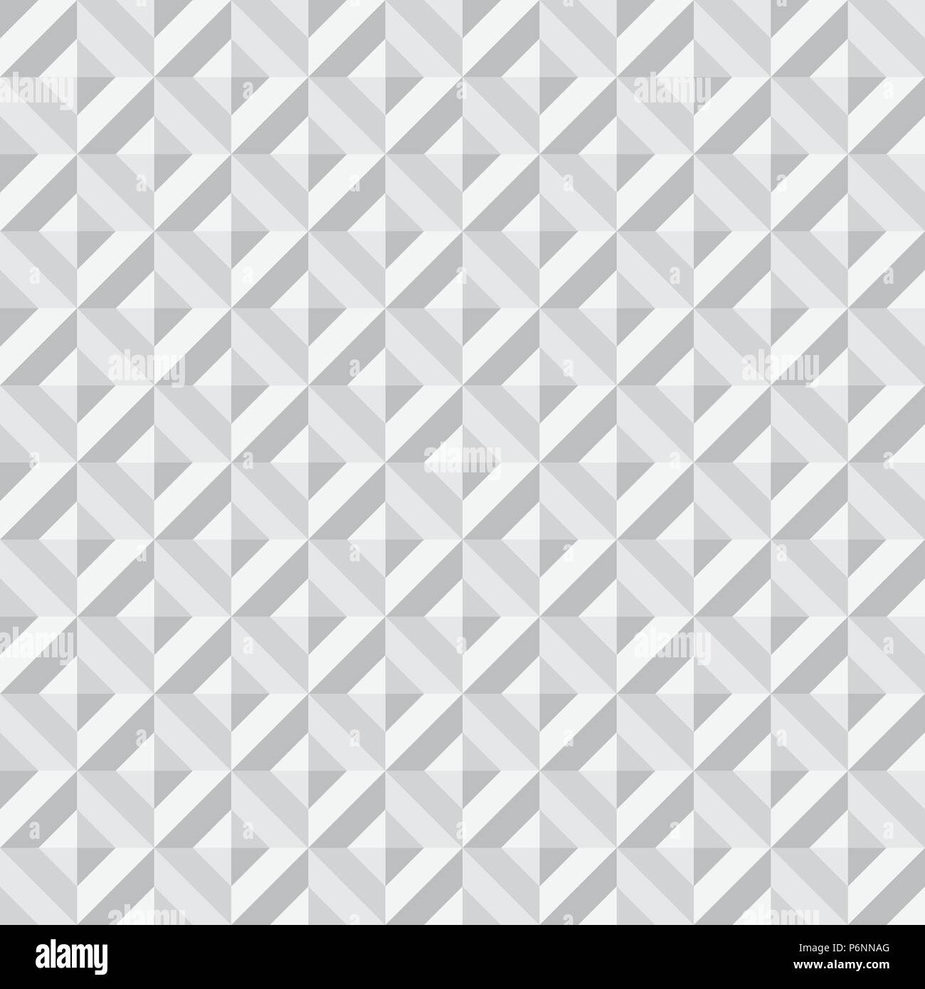 Gray Abstract rectangle seamless pattern. Modern rectangle for graphic design. Stock Vector