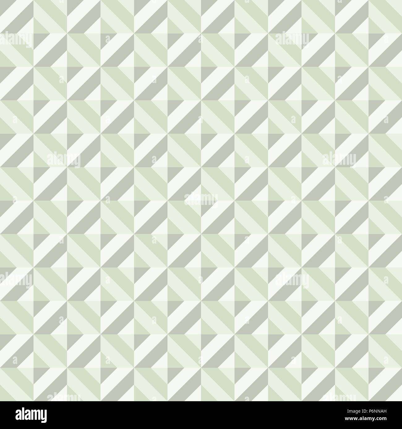 Green Abstract rectangle seamless pattern. Modern rectangle for graphic design. - Stock Vector