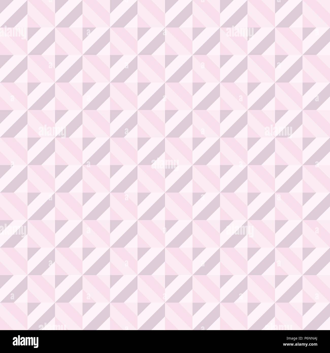 Pink Abstract rectangle seamless pattern. Modern rectangle for graphic design. - Stock Vector