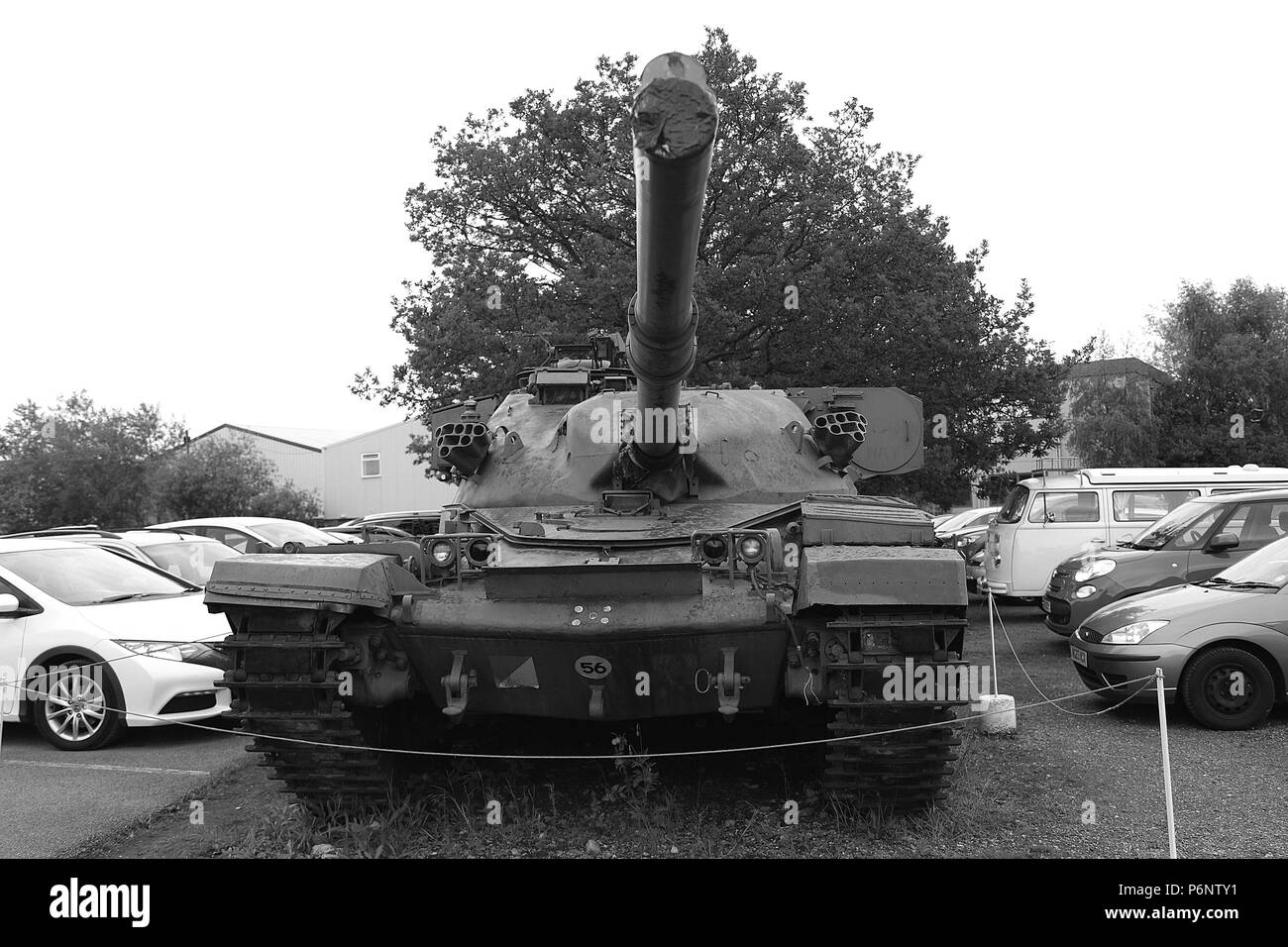 Chieftain tank - Stock Image