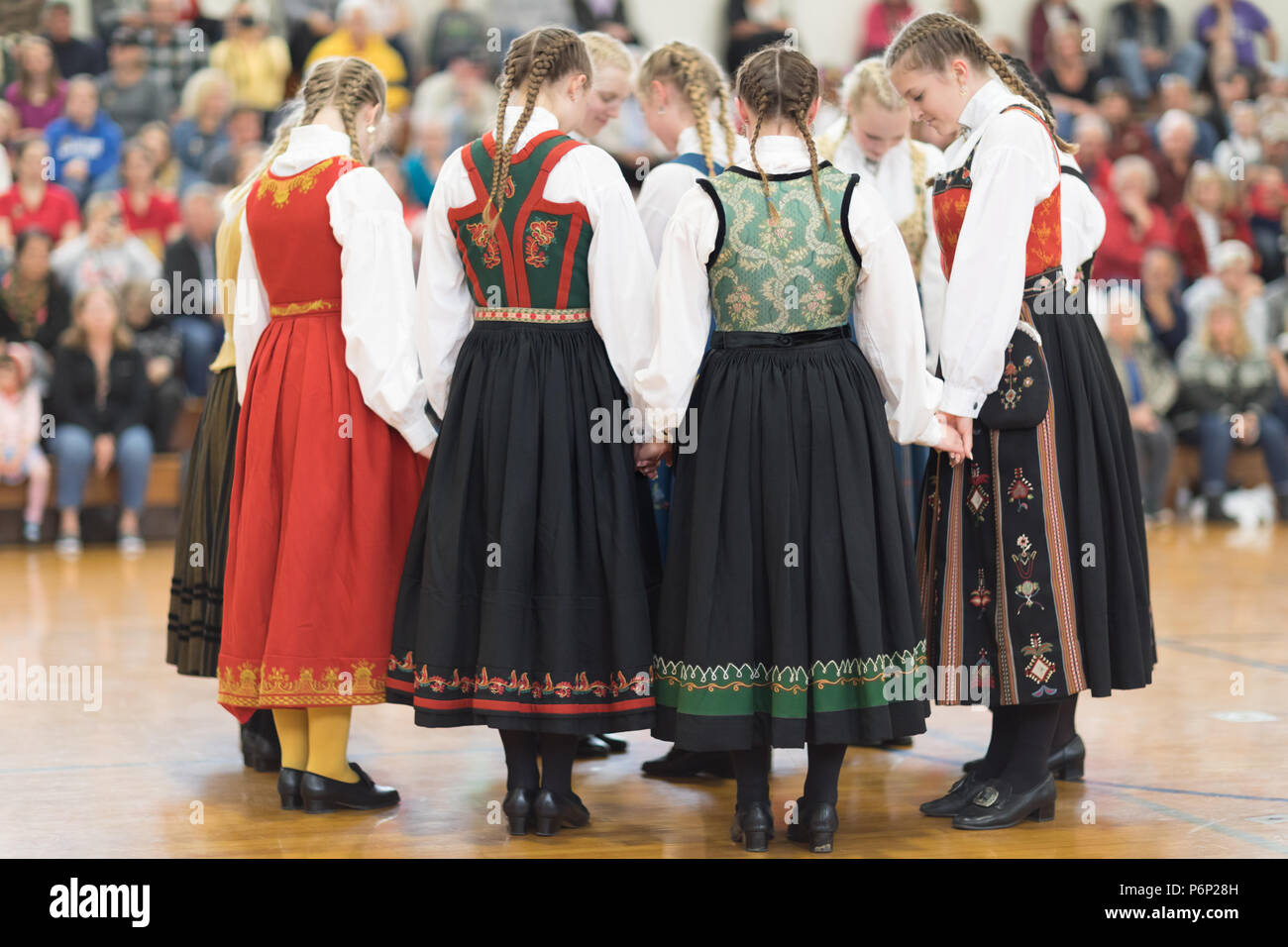 Traditional Norway Clothing Stock Photos & Traditional