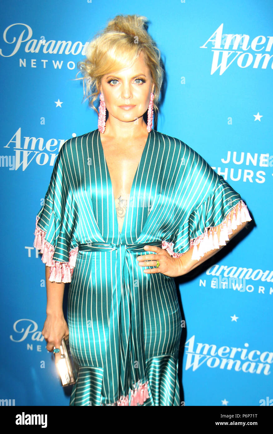 American Woman Premiere Party Held The Chateau Marmont In Los Angeles California