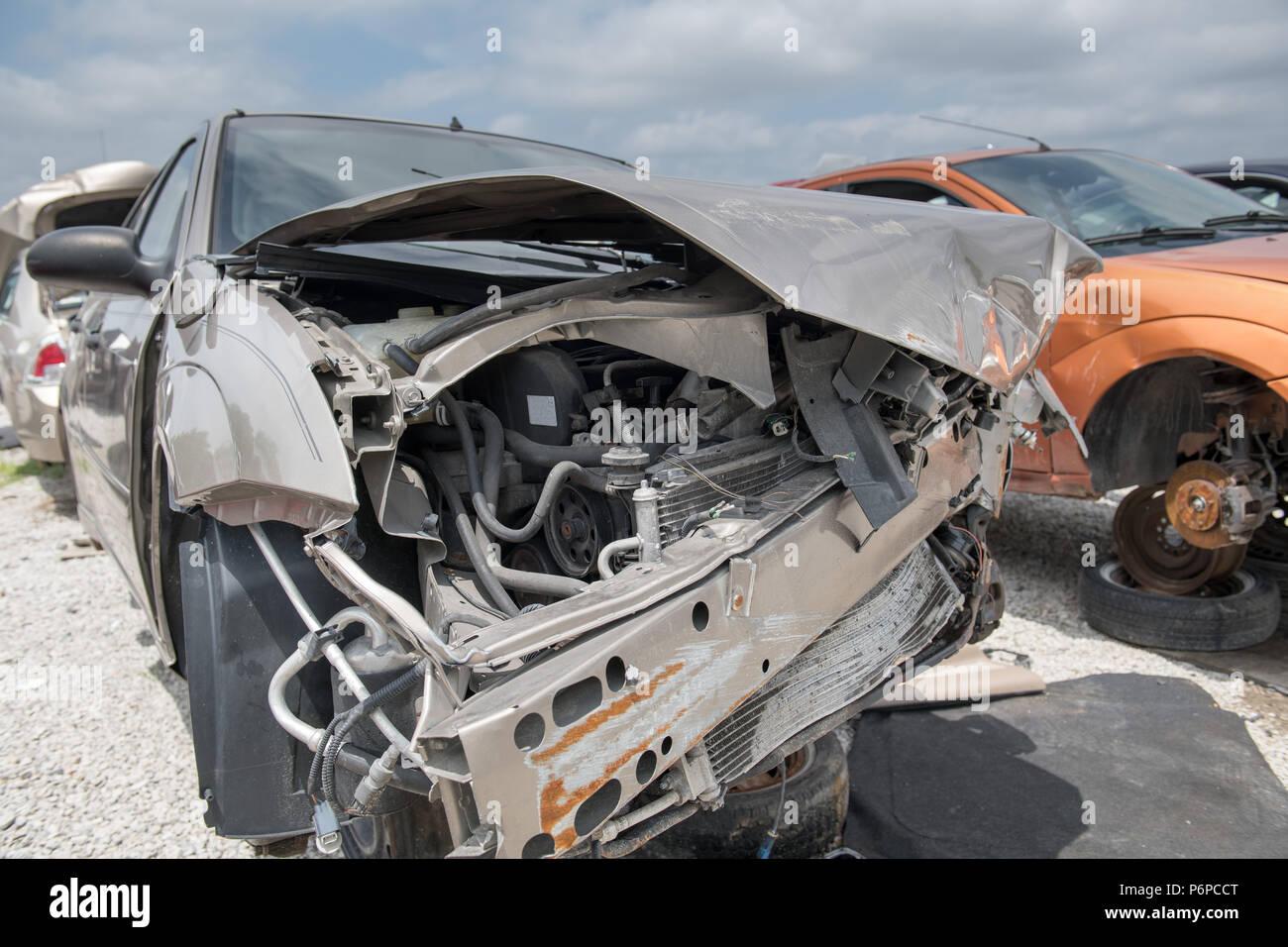 Car Suspension Broken Stock Photos Amp Car Suspension Broken