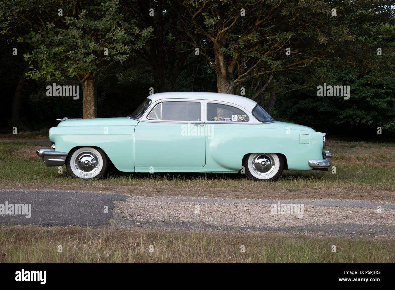 Chevrolet 150 Coupe 1954 - Stock Image