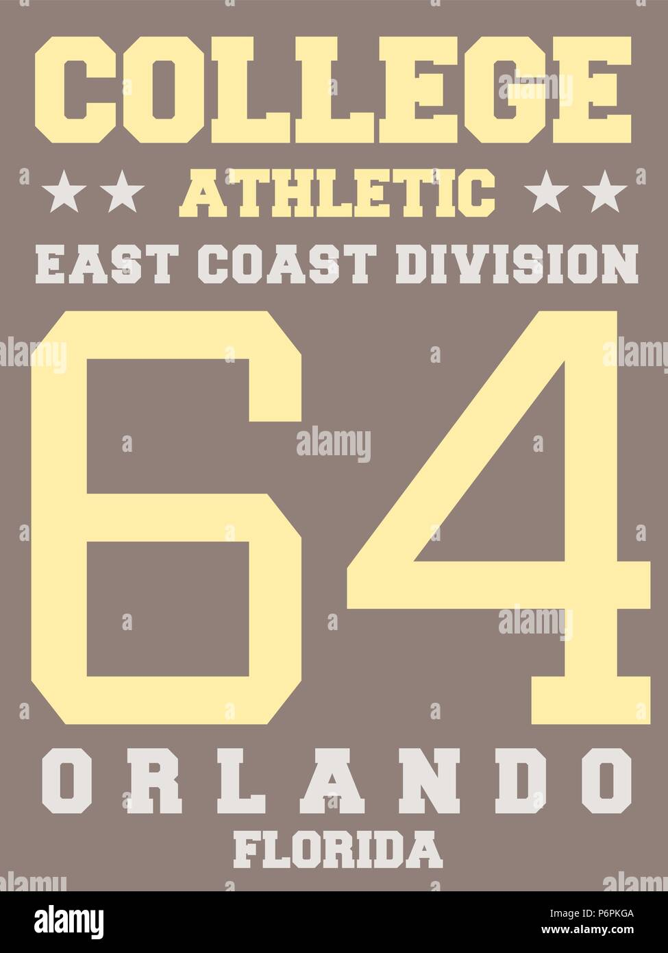 Sports Team Jersey Design Athletic T Shirt East Coast Orlando