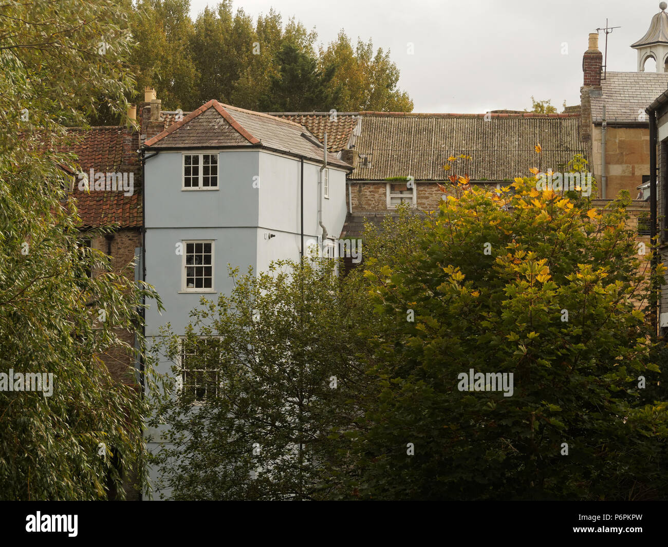 Somerset tourist attractions Uk Somerset Weston super Mare. Wells Cathedral city. Stock Photo
