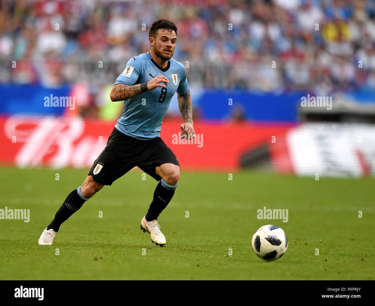 (COMPRA) NANDEZ Samara-russia-june-25-2018-uruguayan-midfielder-nahitan-nandez-during-fifa-world-cup-2018-match-uruguay-vs-russia-P6PRJY