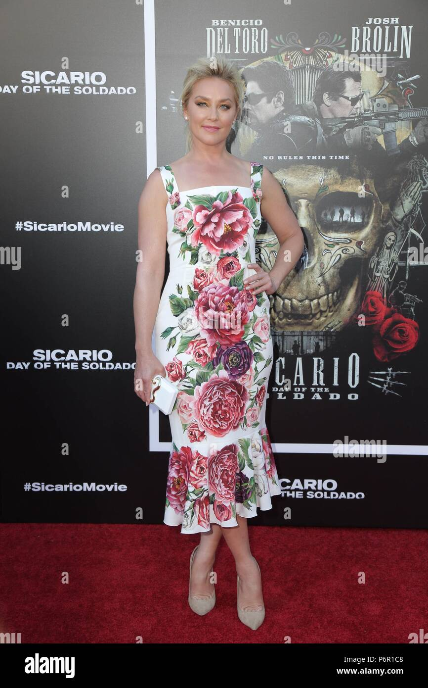 Elisabeth Rohm at arrivals for SICARIO: DAY OF THE SOLDADO Premiere, Regency Village Theatre - Westwood, Los Angeles, CA June 26, 2018. Photo By: Priscilla Grant/Everett Collection Stock Photo