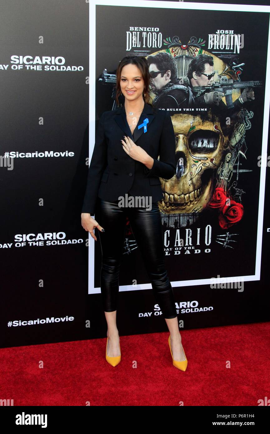 Ruby Modine at arrivals for SICARIO: DAY OF THE SOLDADO Premiere, Regency Village Theatre - Westwood, Los Angeles, CA June 26, 2018. Photo By: Priscilla Grant/Everett Collection Stock Photo