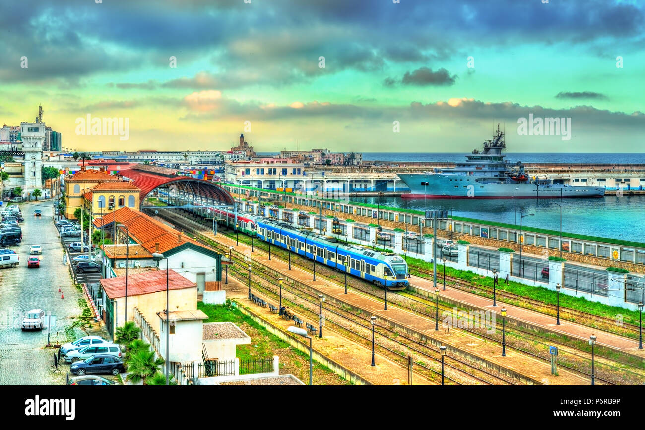 Central train station of Algier, Algeria - Stock Image
