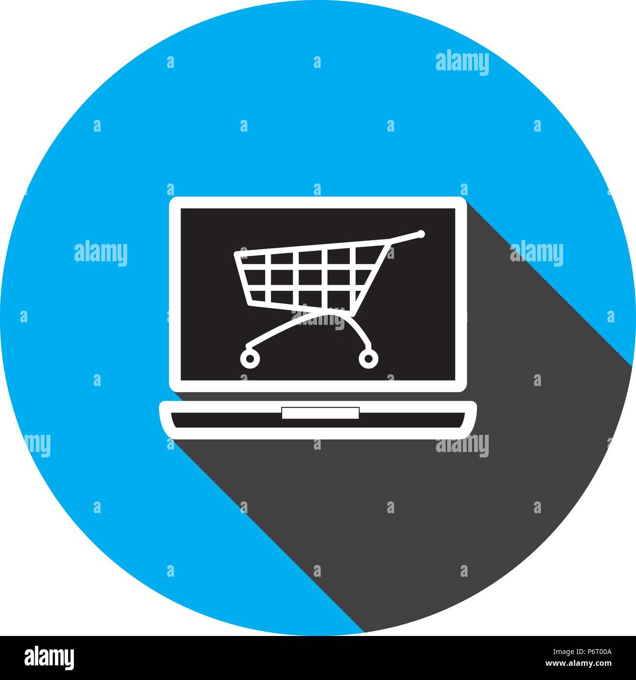 e-commerse icon vector template - Stock Image