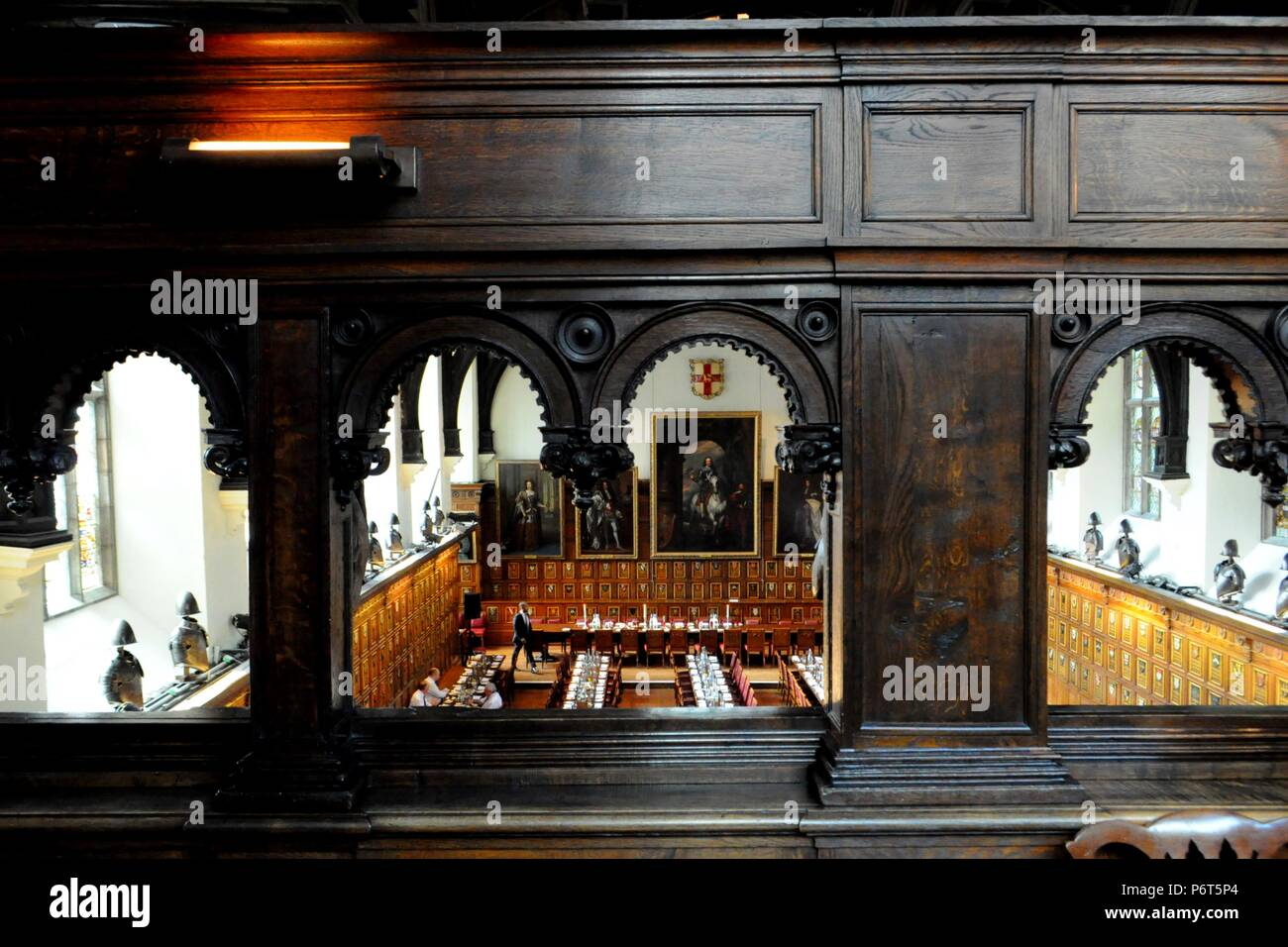 Middle Temple Hall, London UK. - Stock Image