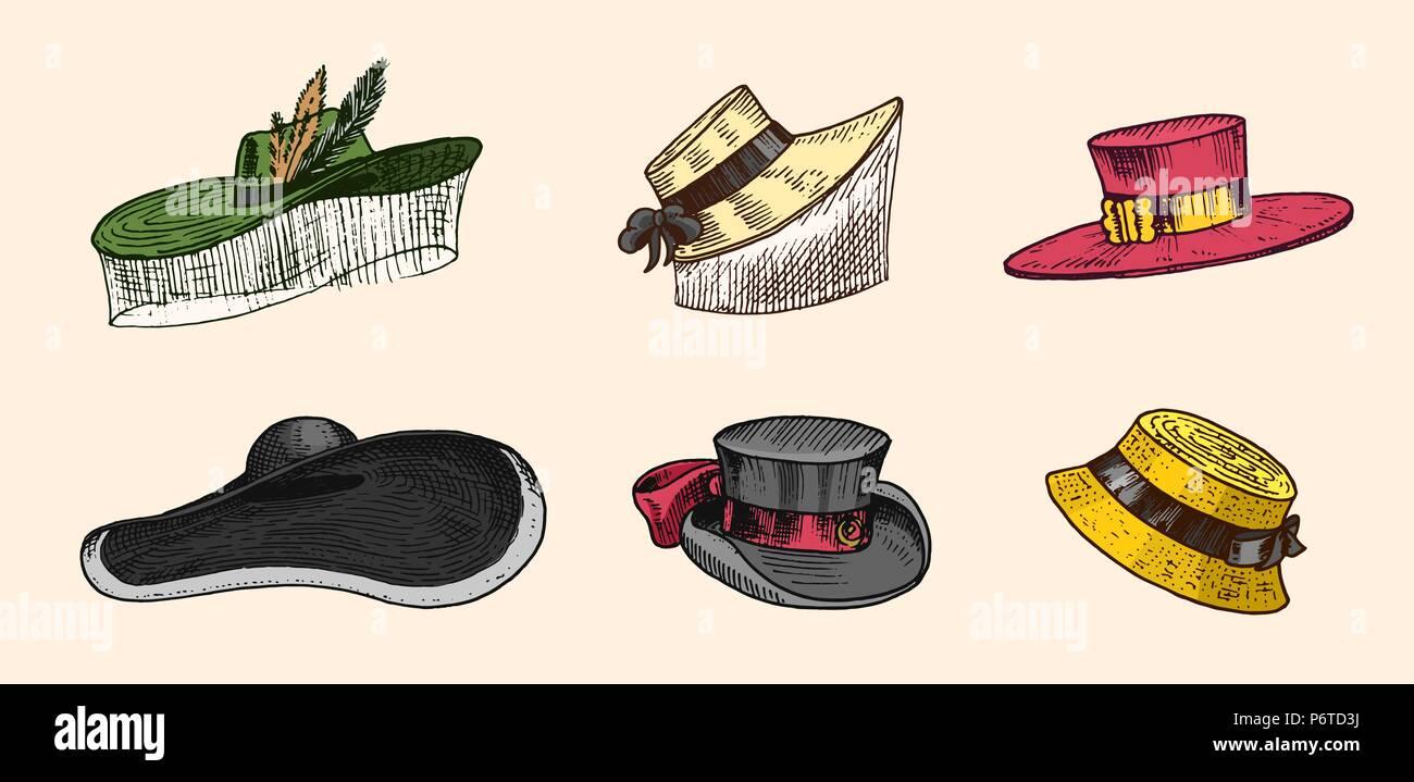 3a52dd2a61e25 Summer vintage Hats collection for elegant men