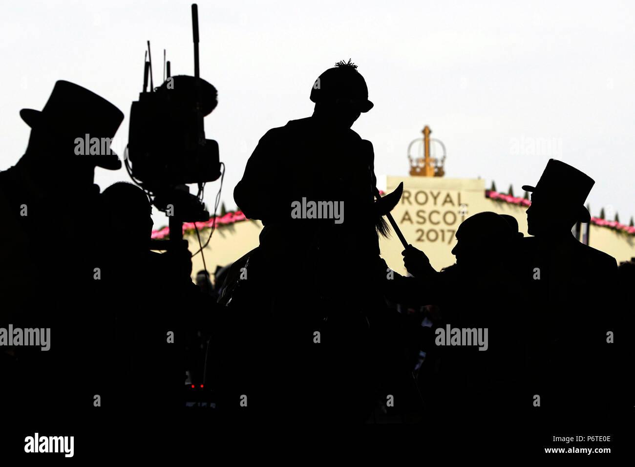 Royal Ascot, Symbolic picture, Royal Ascot 2017 - Stock Image