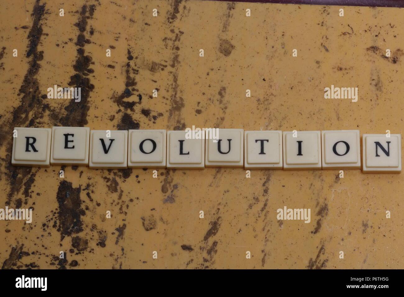 Revolution - Stock Image