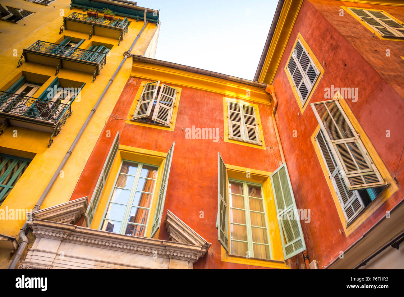 Nice, Alpes-Maritimes, Provence-Alpes-Cote D'Azur, French Riviera, France - Stock Image
