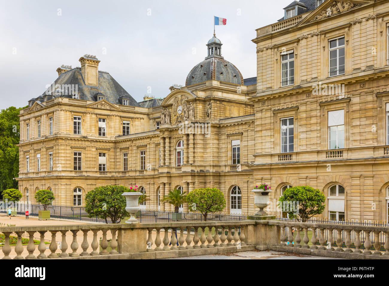 Palais du Luxembourg, Paris, France - Stock Image