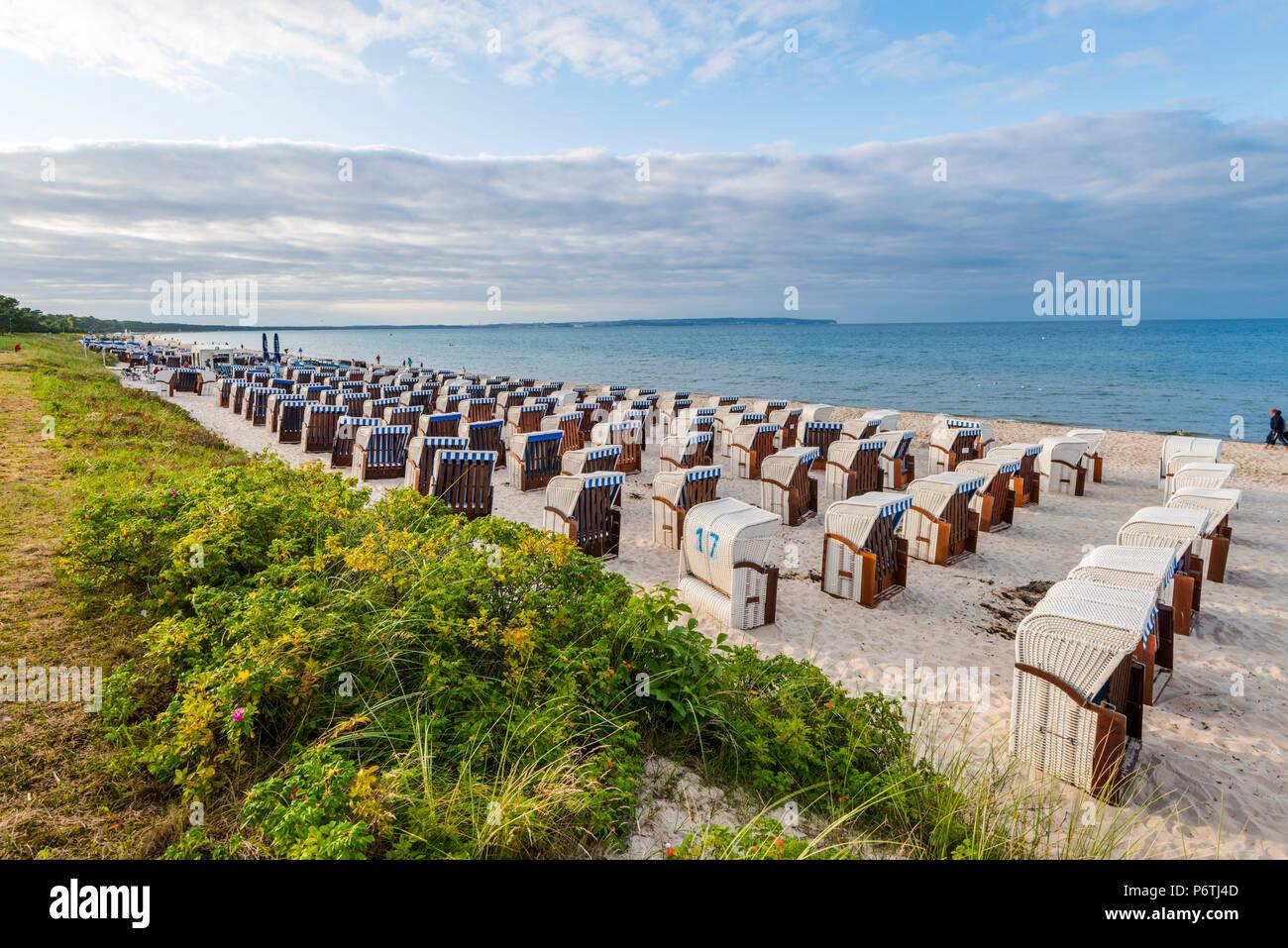Rugen Island, Baltic coast, Mecklenburg-Western Pomerania, Germany. - Stock Image