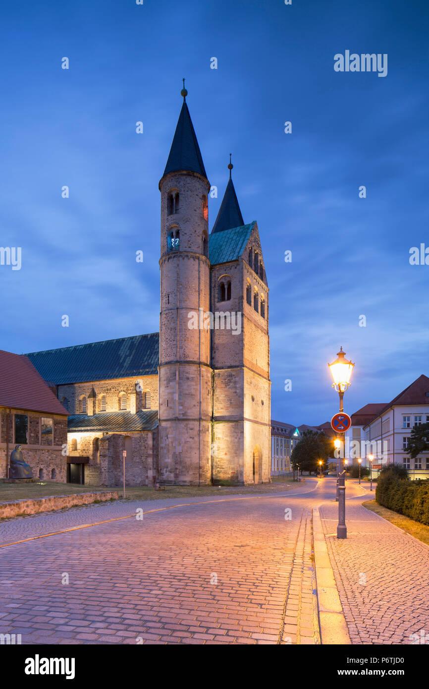Kloster Unser Lieben Frauen, Magdeburg, Saxony-Anhalt, Germany - Stock Image