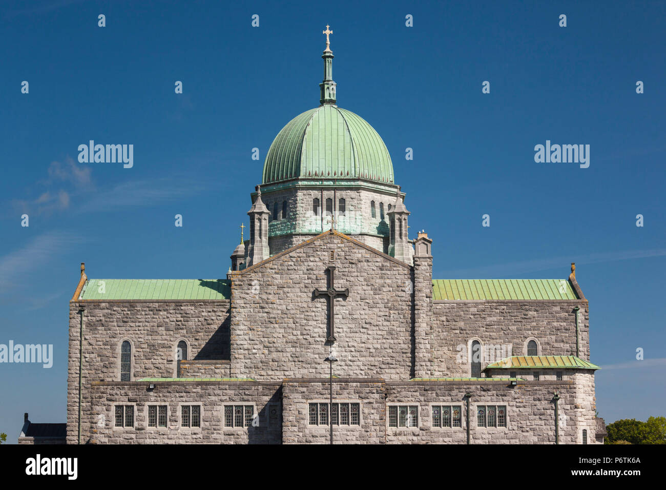 Ireland, County Galway, Galway City, Galway Cathedral, exterior - Stock Image