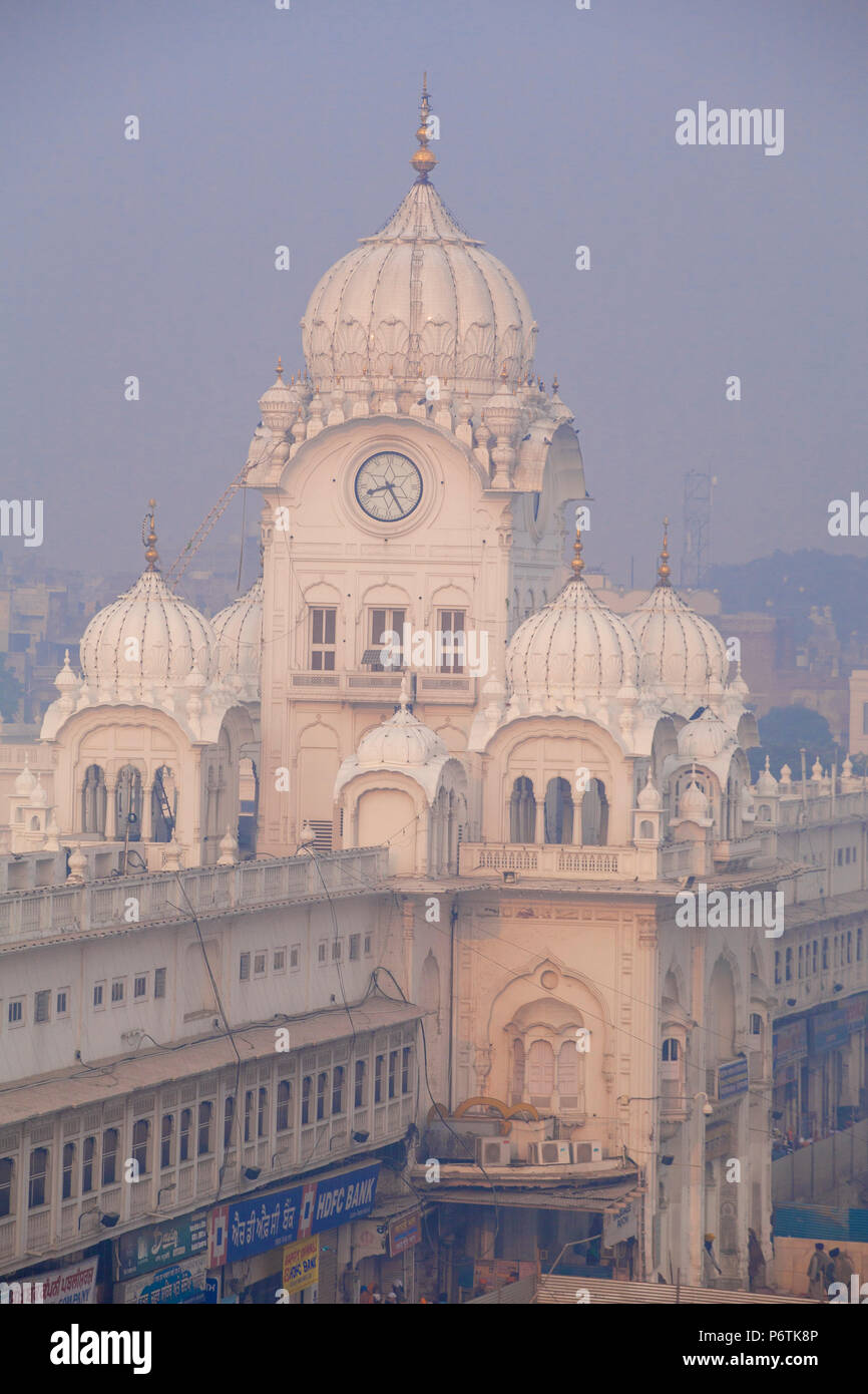India, Punjab, Amritsar, The Harmandir Sahib,  known as The Golden Temple Stock Photo