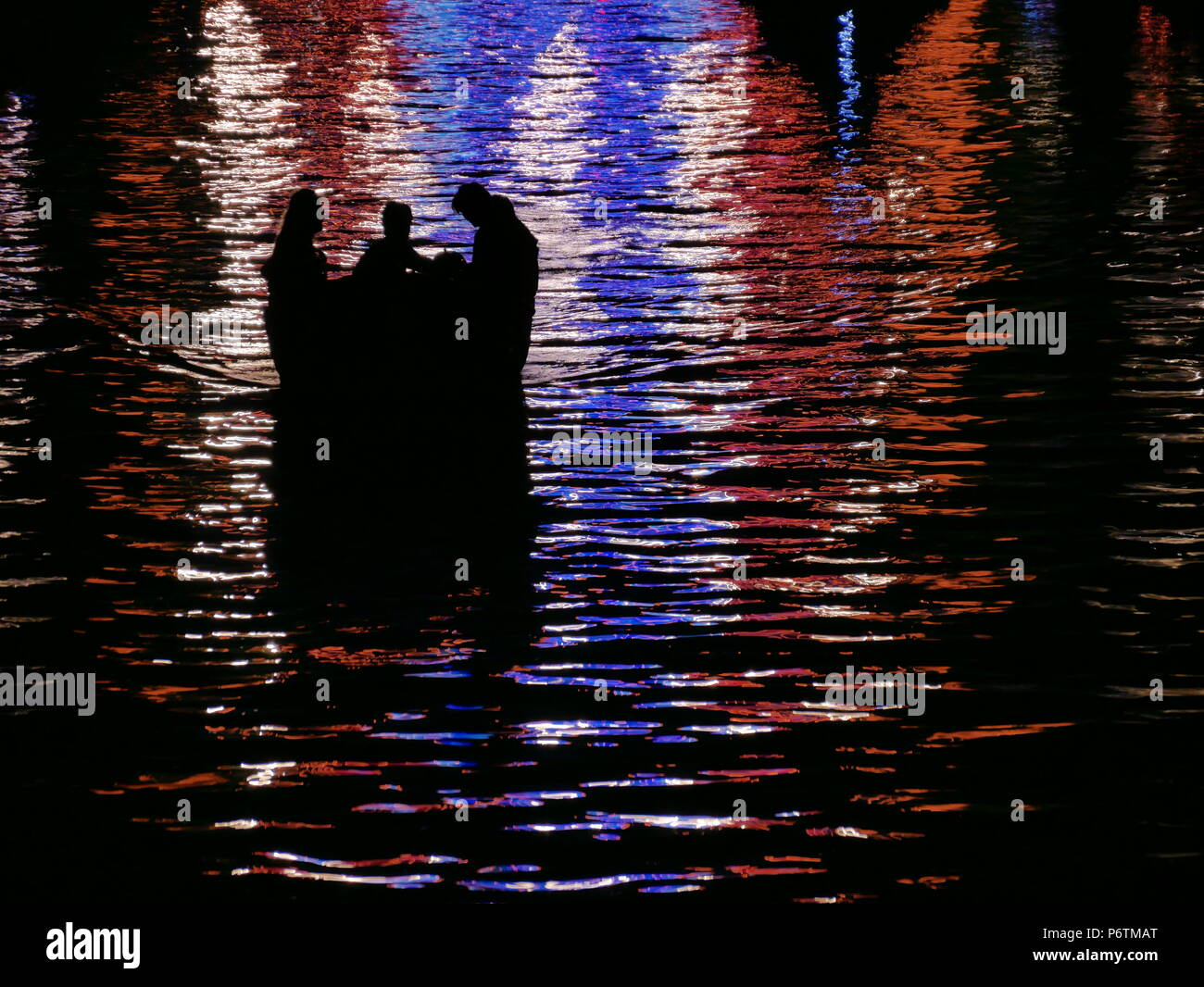 Photo taken in Amsterdam during King Day - Stock Image