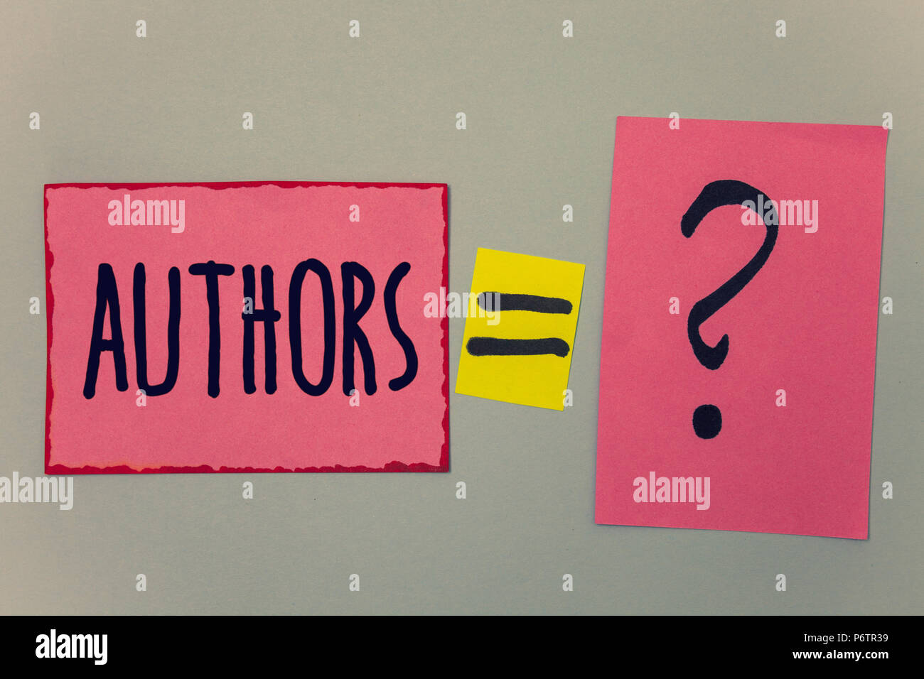 Conceptual Hand Writing Showing Authors Business Photo Text Writer