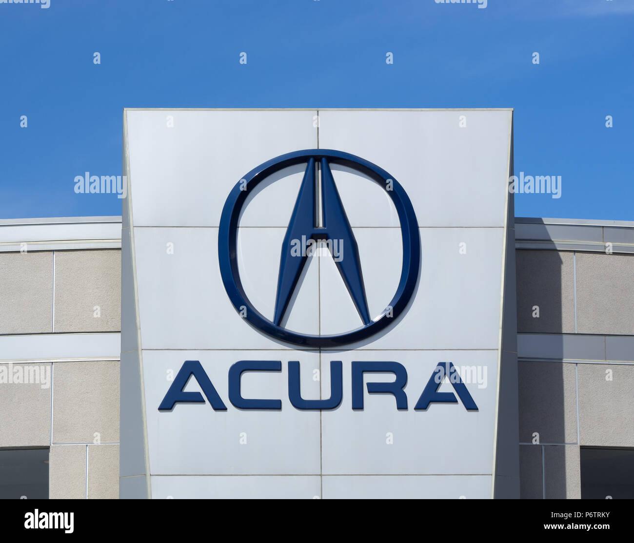 Acura Car Stock Photos & Acura Car Stock Images