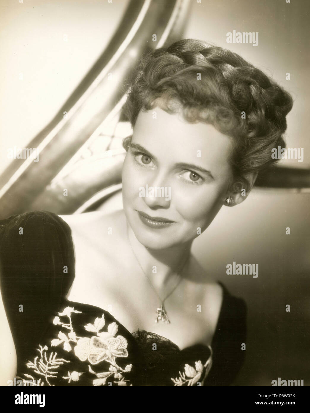 American actress Teresa Wright, 1946 Stock Photo: 210761227