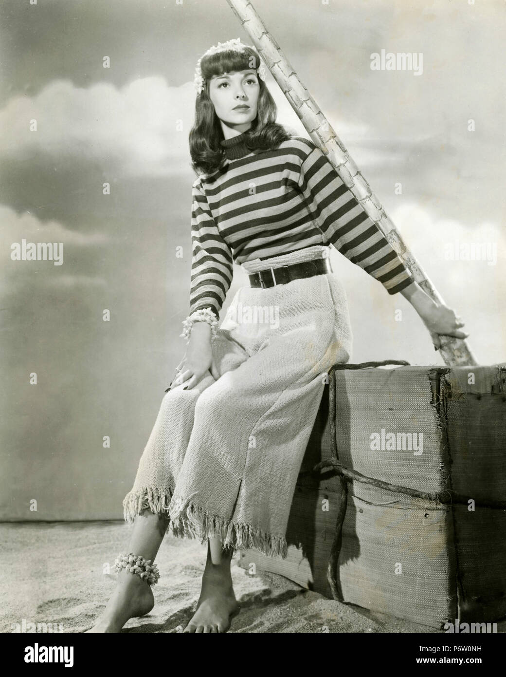 Actress Frances Ramsden, 1940s Stock Photo
