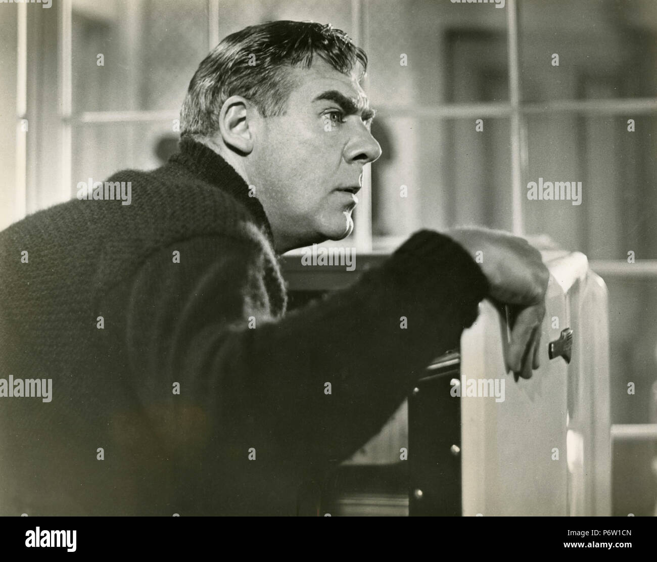 Actor Paul Douglas in the movie Clash By Night, 1952 - Stock Image