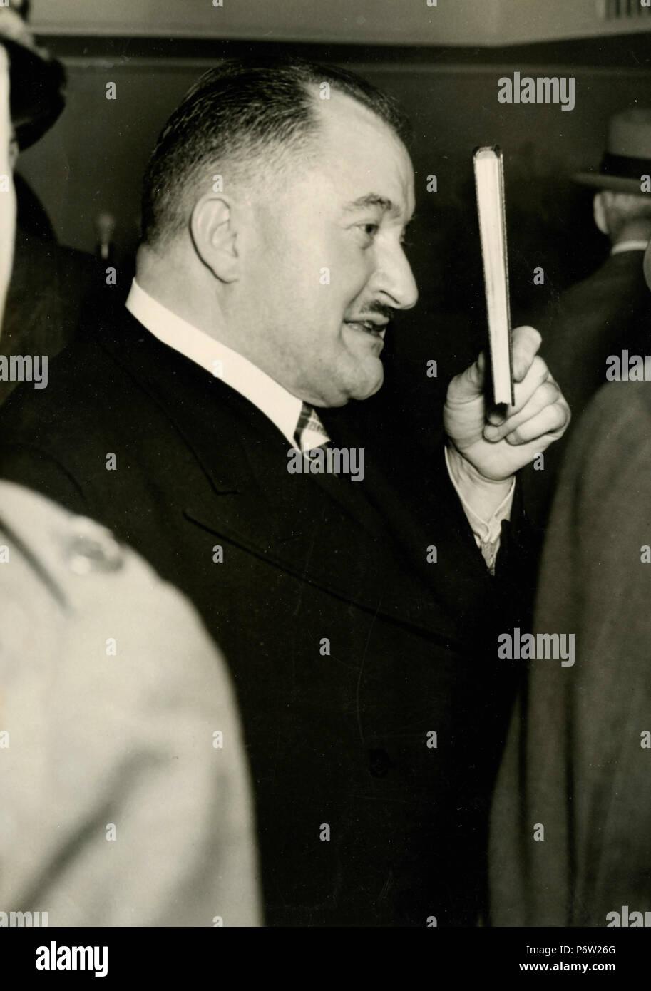 Grover Cleveland Bergdoll, World War Draft Dodger, NY, USA 1939 - Stock Image