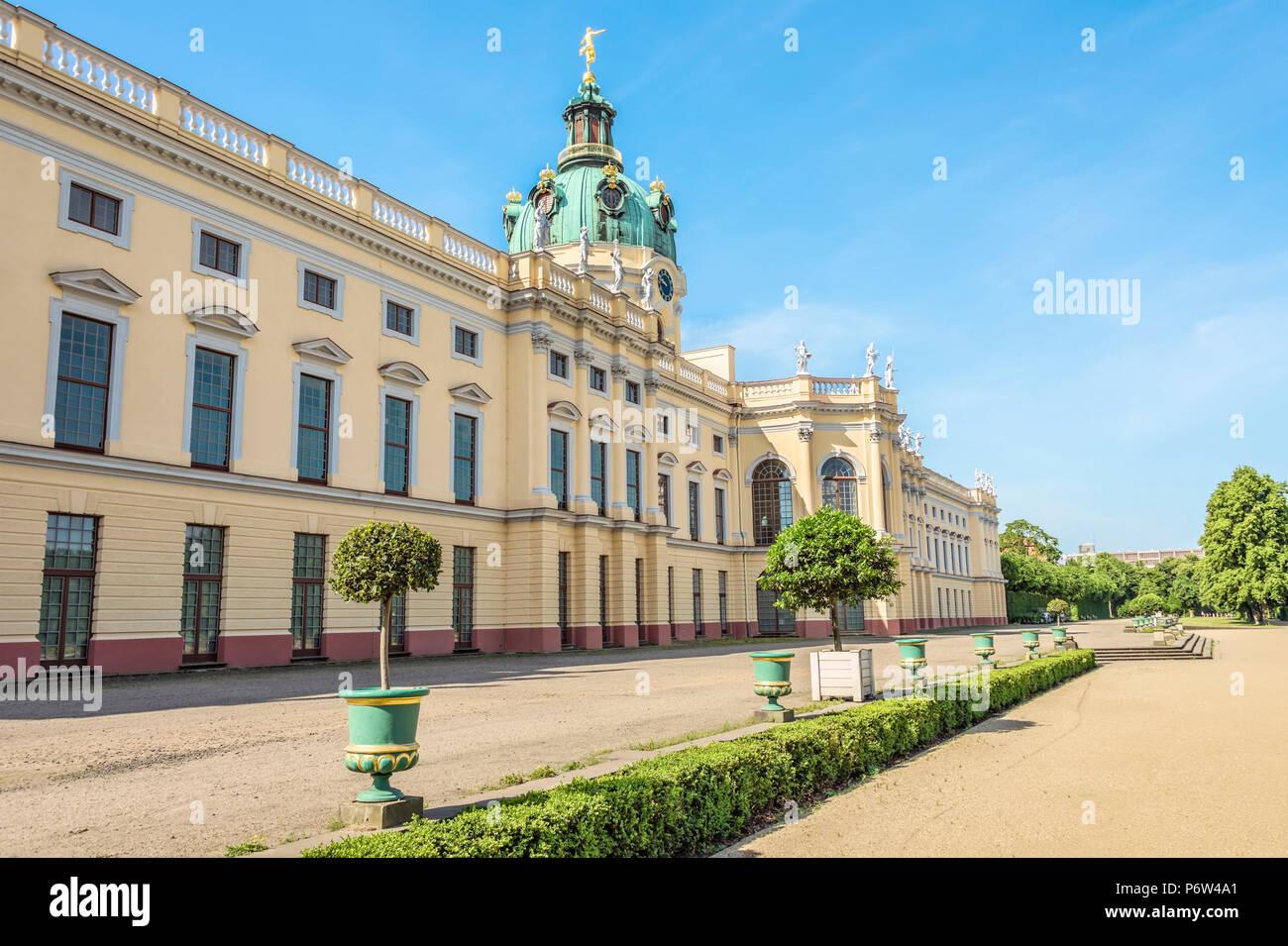 Charlottenburg Palace, Berlin, Germany | Schloss Charlottenburg, Berlin, Deutschland - Stock Image