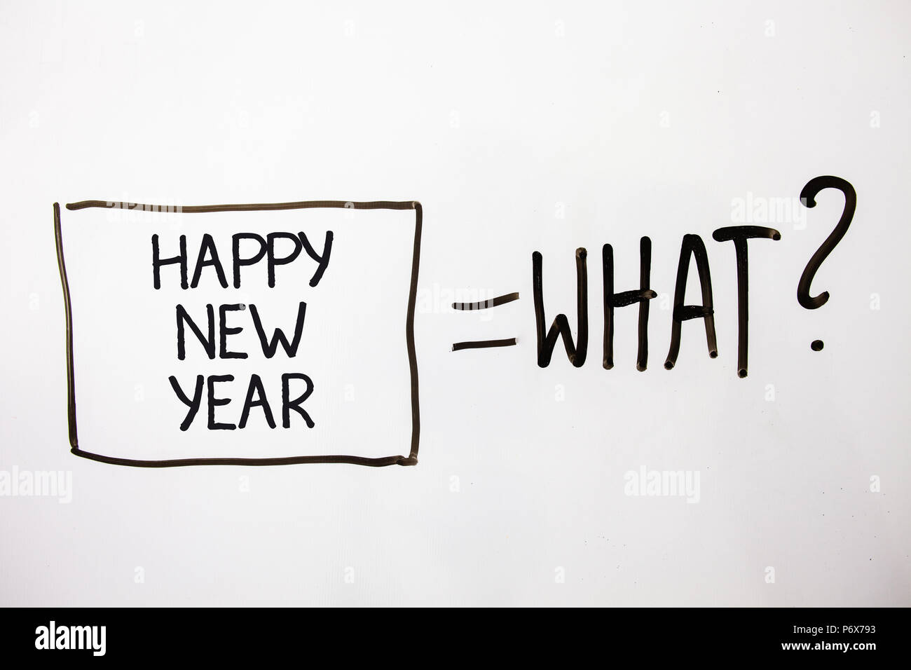Handwriting text Happy New Year. Concept meaning congratulations ...