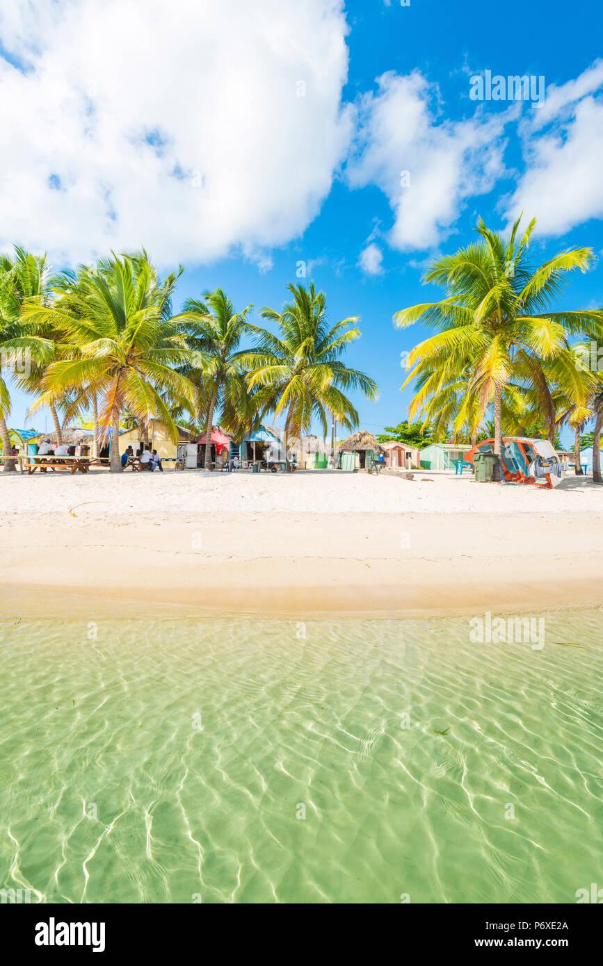 Mano Juan, Saona Island, East National Park (Parque Nacional del Este), Dominican Republic, Caribbean Sea. Stock Photo