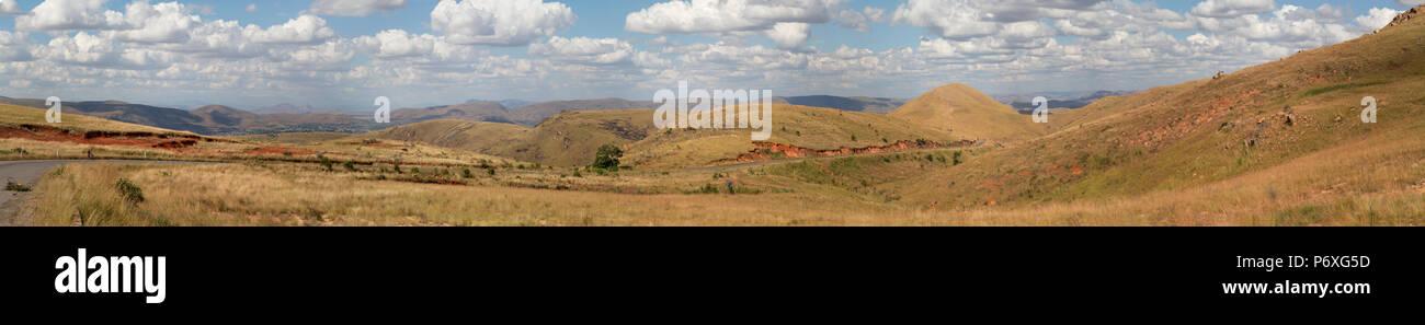 Madagascan landscape - Stock Image
