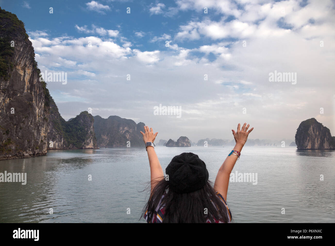 Hạlong Bay , Vietnam - Stock Image
