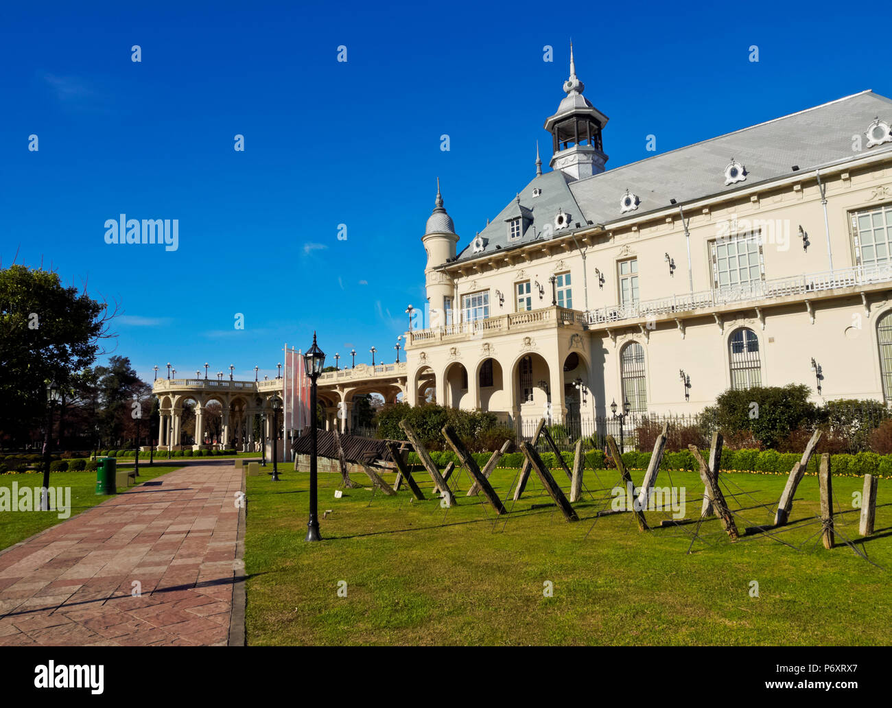 Argentina, Buenos Aires Province, Tigre, View of the Municipal Museum of Fine Art. - Stock Image