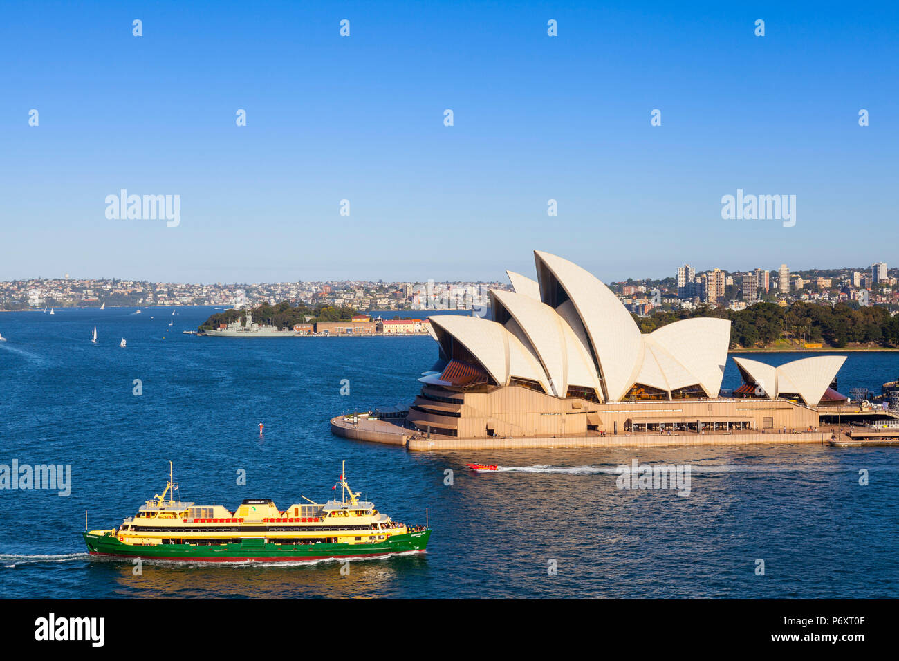 Sydney Opera House, Darling Harbour, Sydney, New South Wales, Australia - Stock Image